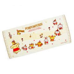 Japan Sanrio Face Towel - Pompompurin / 25th Anniversary