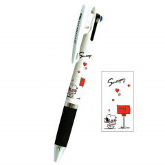 Japan Peanuts Jetstream 3 Color Multi Ball Pen - Snoopy
