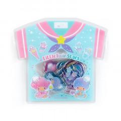Japan Sanrio Summer T-shirt Sticker - Little Twin Stars