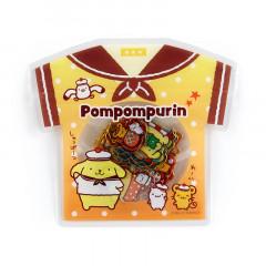 Japan Sanrio Summer T-shirt Sticker - Pompompurin