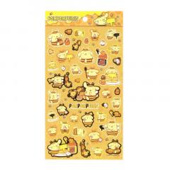 Japan Sanrio Gold Accent Sticker - Pompompurin