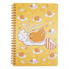 Sanrio A5 Twin Ring Notebook - Gudetama