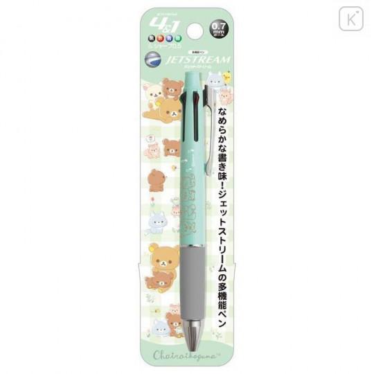 Japan San-X Jetstream 4+1 Multi Pen & Mechanical Pencil - Friends of Chairoikoguma 5th Anniversary - 1