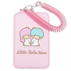 Japan Sanrio Pass Case Card Holder - Little Twin Stars