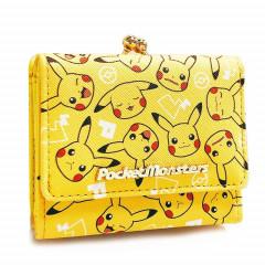 Japan Pokemon Bi-Fold Wallet - Pikachu Yellow
