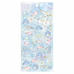 Japan San-X Seal Sticker - Jinbesan / 5th Anniversary B