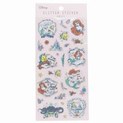 Japan Disney Glitter Sticker - Ariel