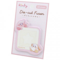 Japan Kirby Die-cut Fusen Sticky Notes - Kirby & Waddle