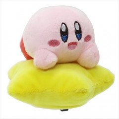 Japan Kirby Plush with Star - Big Smile