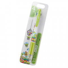 Japan Disney Sarasa Multi 4+1 Gel Pen & Mechanical Pencil - Aliens