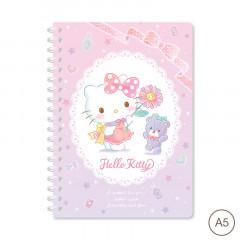 Sanrio A5 Twin Ring Notebook - Hello Kitty 2021