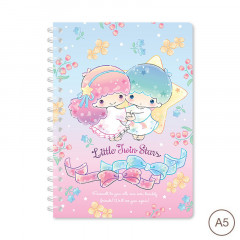 Sanrio A5 Twin Ring Notebook - Little Twin Stars 2021