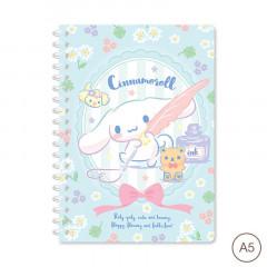 Sanrio A5 Twin Ring Notebook - Cinnamoroll 2021