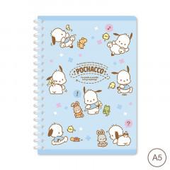 Sanrio A5 Twin Ring Notebook - Pochacco 2021