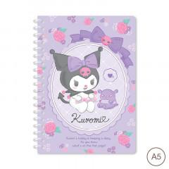 Sanrio A5 Twin Ring Notebook - Kuromi 2021