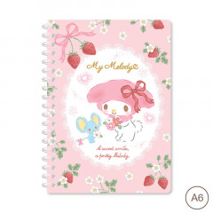 Sanrio A6 Twin Ring Notebook - My Melody 2021
