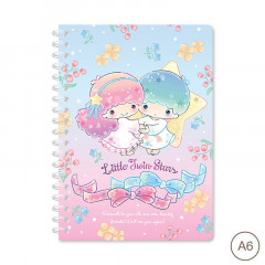 Sanrio A6 Twin Ring Notebook - Little Twin Stars 2021