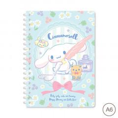 Sanrio A6 Twin Ring Notebook - Cinnamoroll 2021