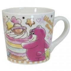 Japan Disney Ceramic Mug - Toy Story Lotso & Little Green Men Colorful Cupcake