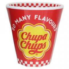 Japan Chupa Chups Acrylic Cup - Red