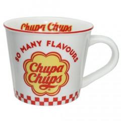 Japan Chupa Chups Ceramic Mug - White & Red