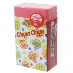 Japan Chupa Chups Eraser - Scented Poppy Light Red