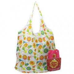 Japan Chupa Chups Eco Shopping Bag with Mini Strawberry Folding Bag