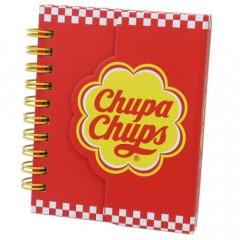 Japan Chupa Chups Twin Ring Notebook - Red