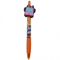 Japan Crayon Shin-chan 0.5mm Gel Pen - Kindergarten Bus Orange