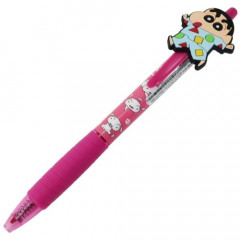 Japan Crayon Shin-chan 0.5mm Gel Pen - Shiro Cherry Pink