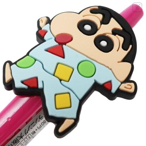 Japan Crayon Shin-chan 0.5mm Gel Pen - Shiro Cherry Pink - 2