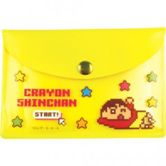 Japan Crayon Shin-chan Sticky Notes with Case - Yellow