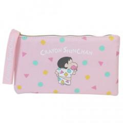 Japan Crayon Shin Chan Flat Pouch - Shinnosuke Pajama Pink
