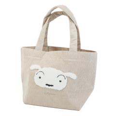 Japan Crayon Shin-chan Mini Tote Bag - Shiro