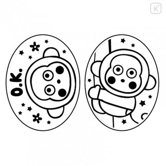 Sanrio Piggy Stamp Chop - Monkichi - 6