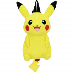 Japan Pokemon Plush Backpack Bag - Pikachu Plush