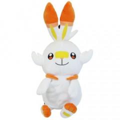Japan Pokemon Plush Backpack Bag - Scorbunny Plush