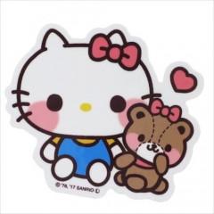 Japan Sanrio Vinyl Sticker - Hello Kitty / Heart Series