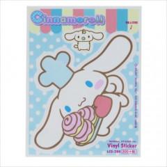 Japan Sanrio Vinyl Sticker - Cinnamoroll / Nostalgic Series