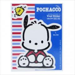 Japan Sanrio Vinyl Sticker - Pochacco / Nostalgic Series