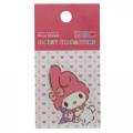 Japan Sanrio Vinyl Sticker - Melody & Kuromi Plush - 2