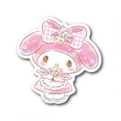 Japan Sanrio Vinyl Sticker - Melody / Glitter