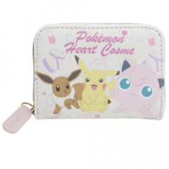 Japan Pokemon Coin Wallet - Pikachu & Eevee