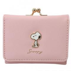 Japan Snoopy Bi-Fold Wallet - Pink