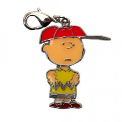 Japan Snoopy Key Charms - Charlie & Cap