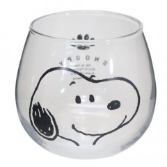 Japan Snoopy Glass - Big Smile