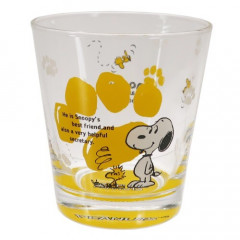 Japan Snoopy Glass - Woodstock Yellow
