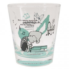 Japan Snoopy Glass - Schroeder Green