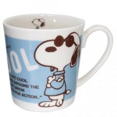 Japan Snoopy Ceramics Mug - Blue