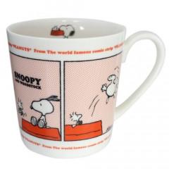Japan Snoopy Ceramics Mug - Red